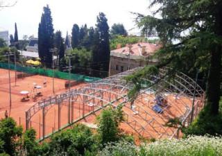Svečano otvorenje prve opatijske montažne teniske dvorane