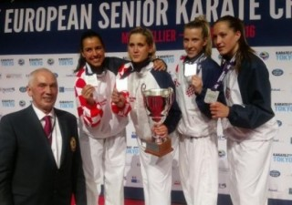 Karatisticama srebro na Europskom prvenstvu