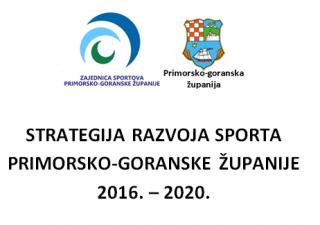 Usvojena Strategija razvoja sporta Primorsko-goranske županije 2016. – 2020.