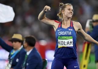Sara Kolak osvojila zlatnu olimpijsku medalju