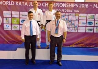 Zoran Grba i Sandra Uršičić osvojili 5.mjesto u Ju no kati na svjetskom kata prvenstvu