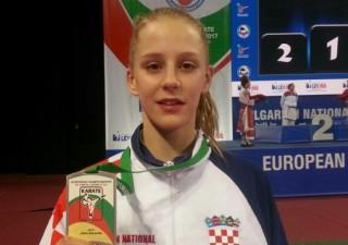 Lea Vukoja kadetska prvakinja Europe u karateu