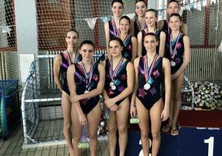Riječke sinkro plivačice osvojile zlato i tri srebra