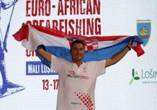 Daniel Gospić pobjednik 31. Euro afričkog prvenstva u podvodnom ribolovu
