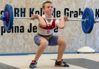 Korino Prijić osvojio zlato na juniorskom prvenstvu Hrvatske