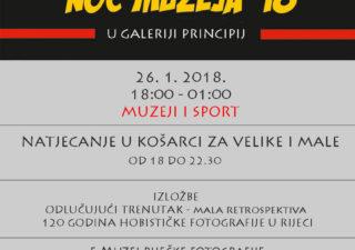 Noć muzeja – Muzeji i sport