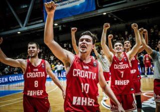 Hrvatska košarkaška U20 reprezentacija osvojila srebro na EP