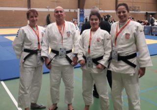 Zoran Grba i Sandra Uršičić osvojili srebro na Europskom judo kata kupu