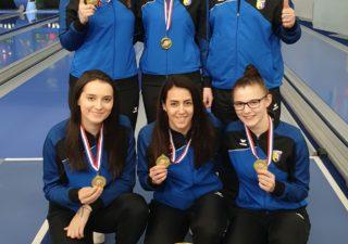 Kuglačice Mlake osvojile zlato na Ekipnom prvenstvu Hrvatske