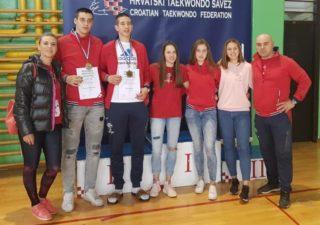 Članovi Taekwondo kluba Grobnik Čavle uspješni na Prvenstvu Hrvatske