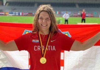 Laura Štefanac osvojila zlato na EP-u gluhih