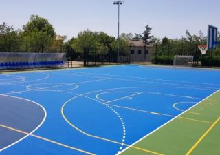 Uređeno školsko sportsko igralište u Omišlju
