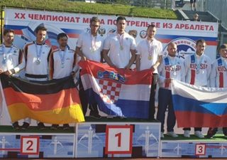 Hrvatski samostreličari zlatni na Svjetskom prvenstvu