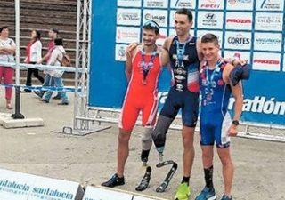 Antonio Franko brončani na Europskom prvenstvu u paratriatlonu