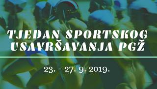 Otvorene prijave za Tjedan sportskog usavršavanja PGŽ 2019.