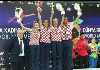 Ženska boćarska reprezentacija srebrna na Svjetskom kupu