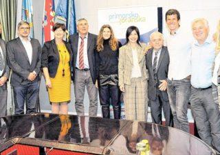 Primanje za uspješne sportaše Primorsko-goranske županije