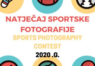 Raspisan natječaj sportske fotografije za 2020.