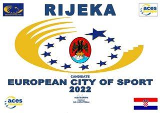 Grad Rijeka kandidat za Europski grad sporta 2022. godine