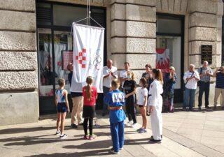 Na Korzu obilježen Hrvatski olimpijski dan