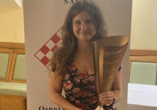 Patricija Vujnović prvakinja Hrvatske u šahu