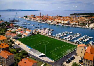 Novouređeno nogometno igralište u Gradu Rabu