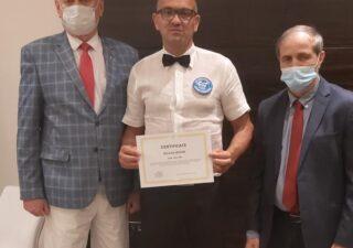 Edvardo Gustin postao boksašči sudac najviše kategorije