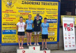 Riječki Triatlon klub Rival najuspješniji hrvatski klub na kvalifikacijama za Triathlon Youth Championships 2021