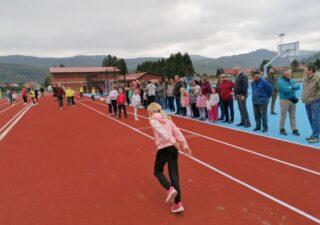 Otvorena atletska staza u sklopu Sportskog centra Mrkopalj